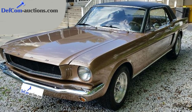 Online veiling Ford Mustang Coupe 1965 - 289 V8 C-code