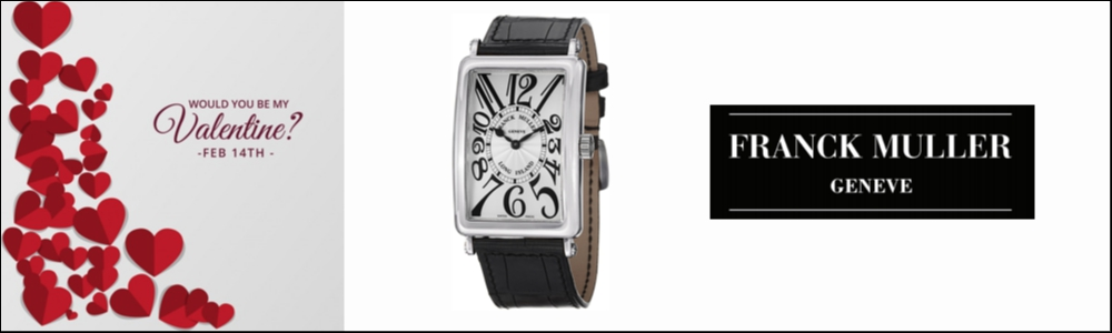 Franck Muller new top watch special edition Long island