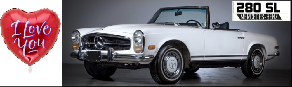 Mercedes 280 SL pagode classic car in top staat !