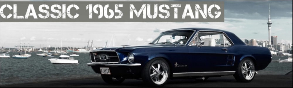 Classic 1965 Mustang 6 cylinder