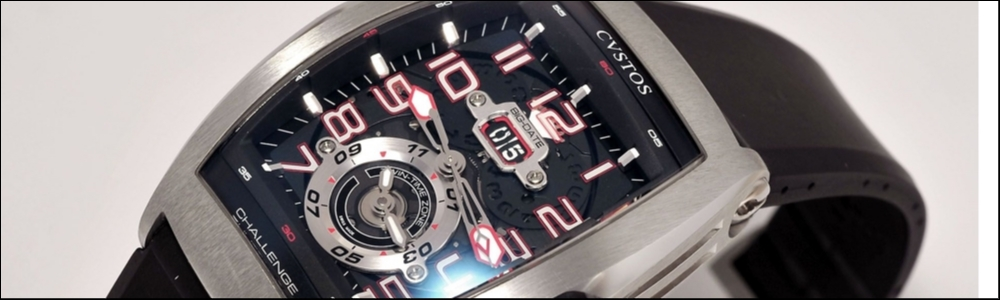 CVSTOS Dualtime Challenge top watch